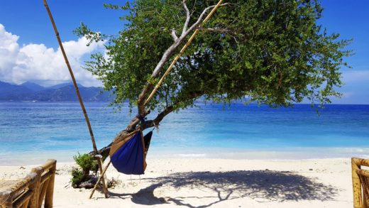 Sea Beach Summer Depend On Holiday Relax Hammock